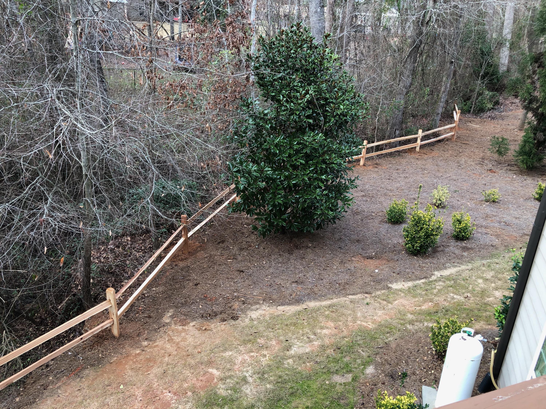 2 rail split cedar